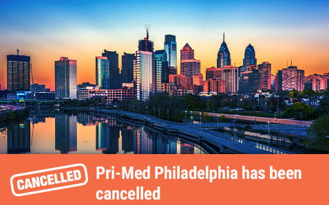 Pri-Med Philadelphia has been cancelled.