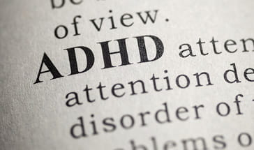 dictionary definition of ADHD