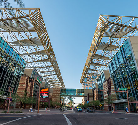 Phoenix Convention Center, home of Pri-Med's CME conference in Phoenix, AZ