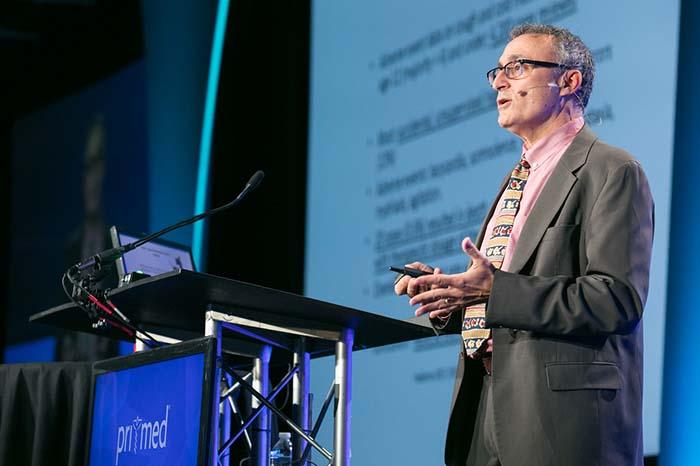 Frank J. Domino, MD presenting at Pri-Med conference