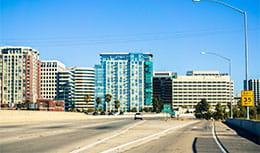 San Jose Skyline, home of Pri-Med's CME conference in San Jose