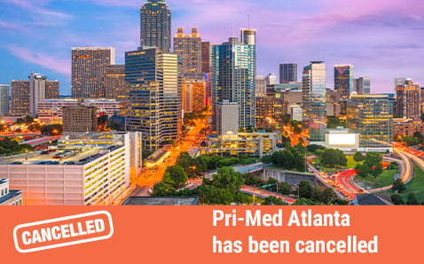 Pri-Med Atlanta has been cancelled.