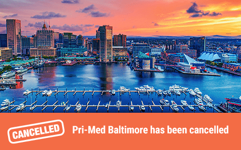 Pri-Med Baltimore has been cancelled.