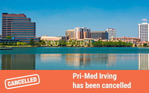 Pri-Med Irving has been cancelled.