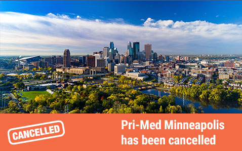 Pri-Med Minneapolis has been cancelled.