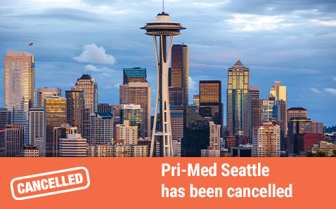 Pri-Med Seattle is cancelled.
