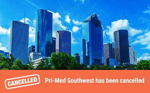 Pri-Med Southwest has been cancelled
