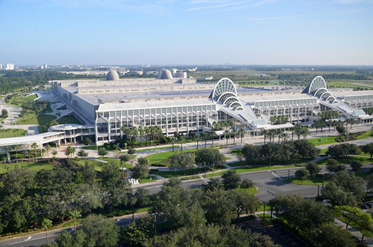 Orange County Convention Center, home of Pri-Med's CME conference in Orlando, Florida.