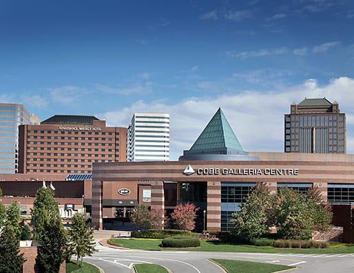 Cobb Galleria Centre, home of Pri-Med's CME conference in Atlanta, GA