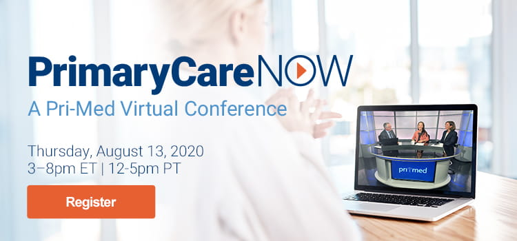 PrimaryCareNOW: A Virtual CME Conference - August 13, 2020