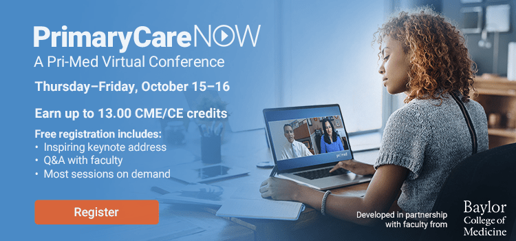 PrimaryCareNOW: A Pri-Med Virtual Conference