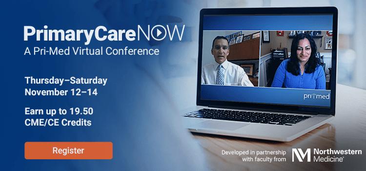PrimaryCareNOW: A Pri-Med Virtual Conference | Thursday–Saturday, November 12–14