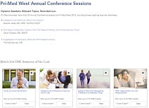 Annual Conference CME Activities Online